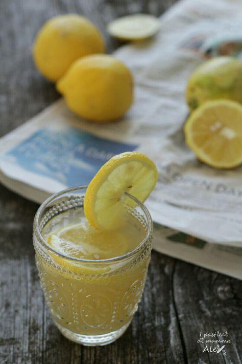 Limonata frizzante | I pasticci di mamma Alex