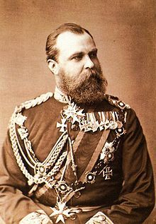 Ludwig IV, Grand Duke of Hesse - b. 1837 married Princess Alice of UK daughter of Queen Victoria.  They had 7 children.