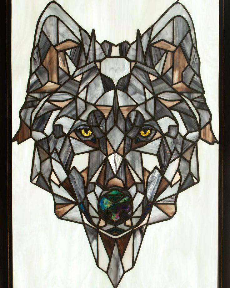 витраж фото волка жил святой, какие