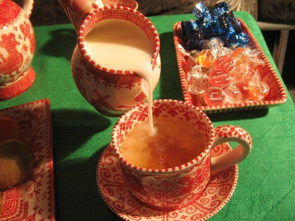 Karelian craft. Porchelain clay