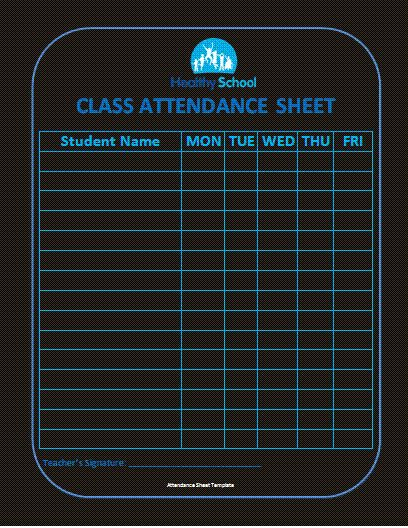 Best 25+ Attendance sheet template ideas on Pinterest Attendance - create a sign in sheet