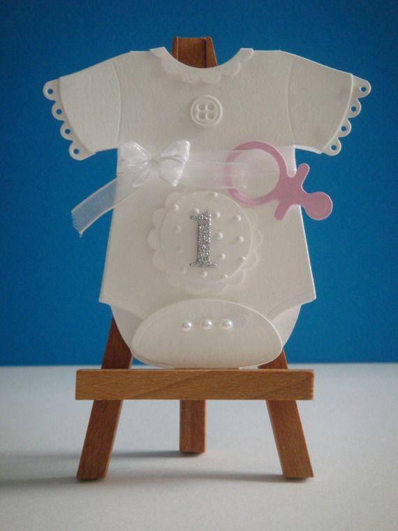 Kit carte naissance bébé fille à réaliser vous même