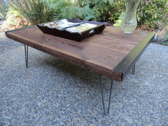 20 x 40 Industrial Coffee Table from old by MtHoodWoodWorks, $215.00