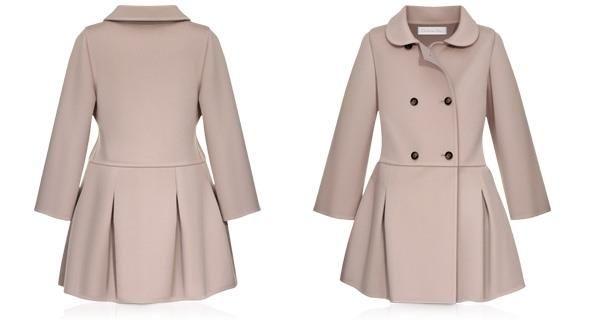 Модели детских пальто
