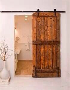 53+x+7'+rustic+Barndoor+w+hardware+by+RusticaINNOVATIONS+on+Etsy,+$525.00: