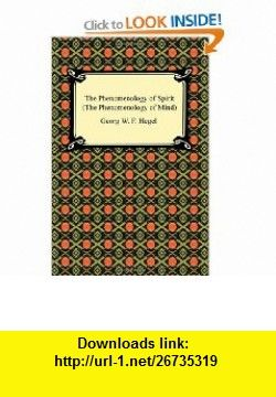 7 best books pdf images on pinterest pdf tutorials and book the phenomenology of spirit the phenomenology of mind 9781420934137 georg w f hegel fandeluxe Images
