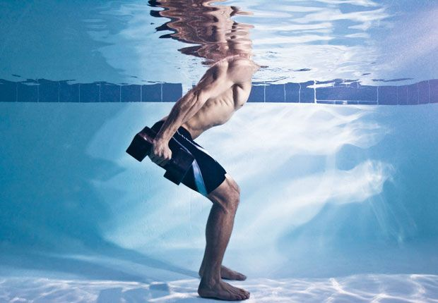 It may not be bathing-suit season, but now is the ideal time to hit the pool—and make it your gym. This water-based cardio-and-strength regimen will burn calories, sculpt muscle, and help you get in your best shape ever.