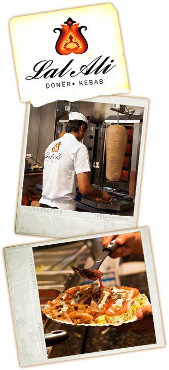 #Kebab del #restaurante doner Lal Ali a domicilio #Halal #Malaga www.foodmesenger.com