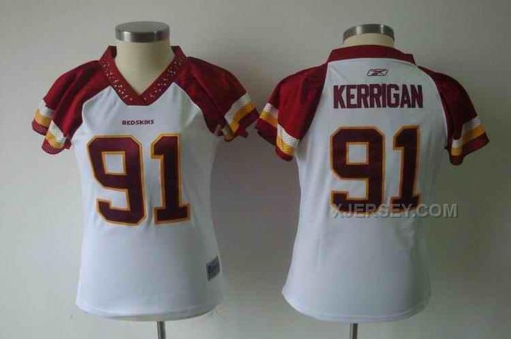 http://www.xjersey.com/redskins-91-kerrigan-white-women-jerseys.html REDSKINS 91 KERRIGAN WHITE WOMEN JERSEYS Only $34.00 , Free Shipping!