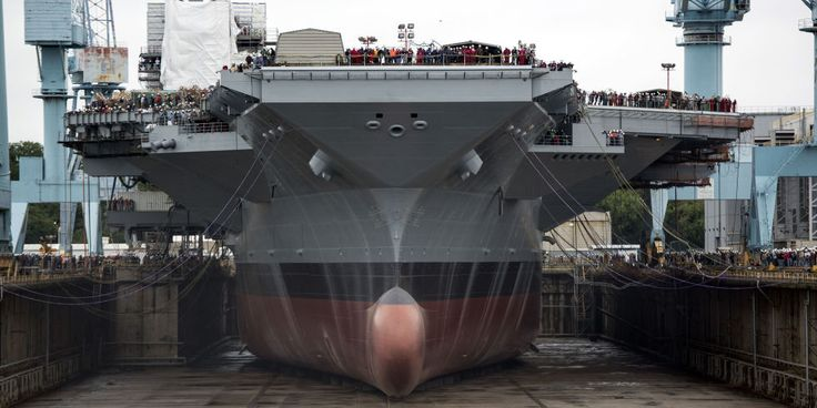 Inside the USS Ford, America's Newest Aircraft Carrier