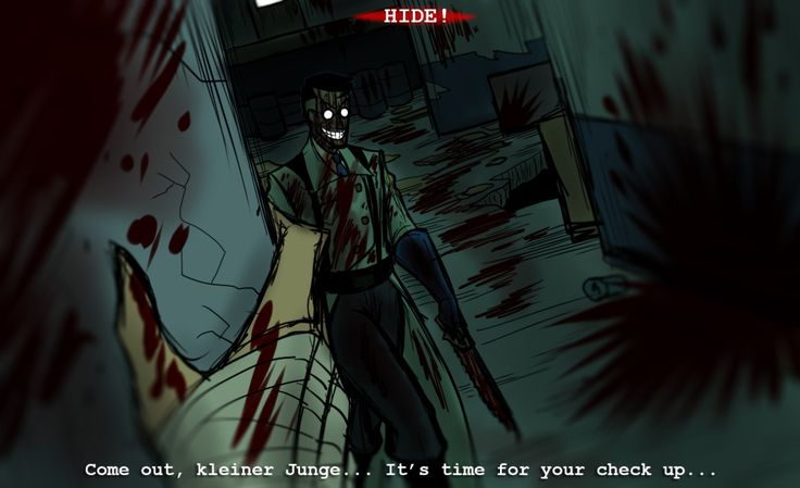 if tf2 was a horror game. holy shit that's scary