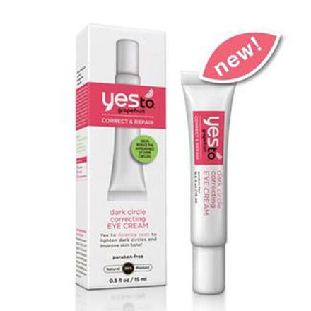 yes to grapefruit dark circle correcting cream - can find in any drugstore recommended on xojane!