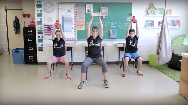 Bouge en classe avec Jeunes en santé #7