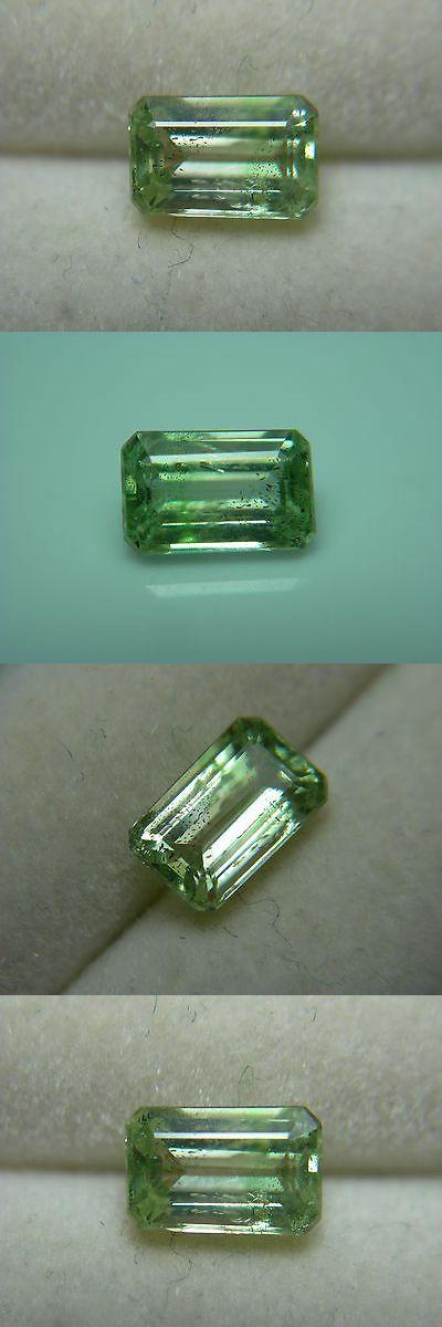 Tsavorite 110809: Rare Mint Green Colorless Garnet Gem Grossular Fluorescent Merelani Leuco -> BUY IT NOW ONLY: $178.79 on eBay!