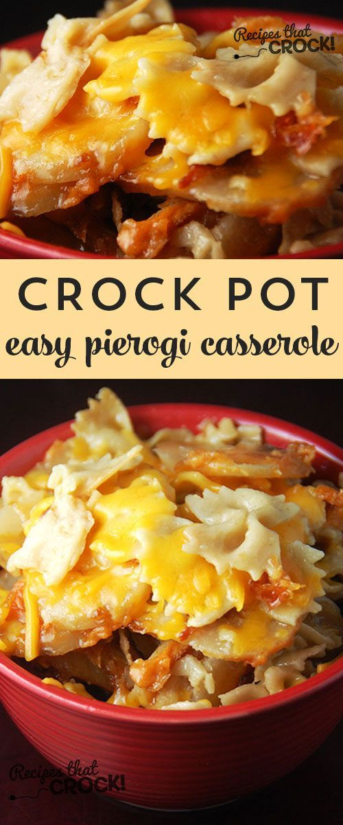 This Easy Pierogi Casserole is delicious and a snap to throw together! Such a fantastic recipe for dinner.