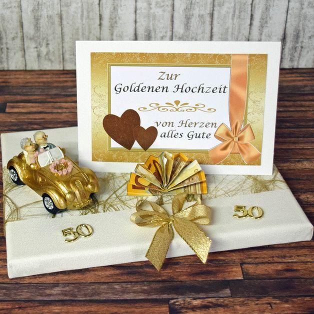 Wer Kennt Das Problem Nicht Man Ist Zu Einer Goldenen Hochzeit Eingelad Geschenke Zur Goldenen Hochzeit Geldgeschenk Goldene Hochzeit Hochzeit Geschenk Geld