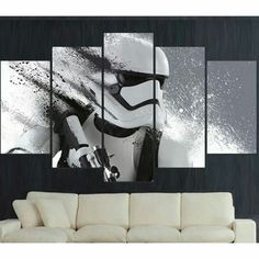 Do you love Star Wars? Then get this awesome canvas painting! Get 50% Off Today Only!! Get it now => http://printrevival.com/products/storm-canvas Comment YES below if you want this!