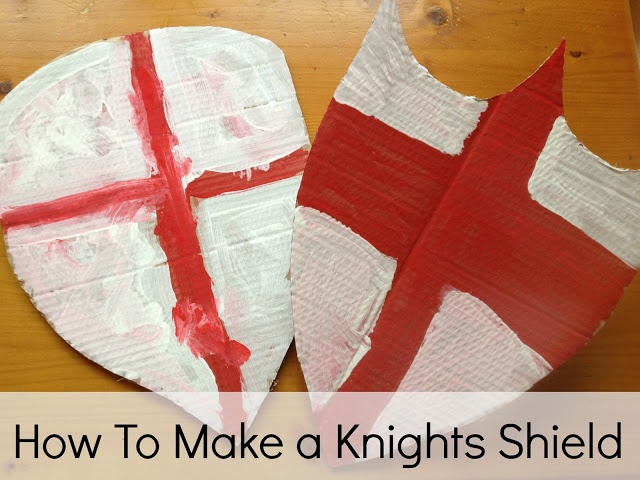 Playful Learners: Make a knights shield