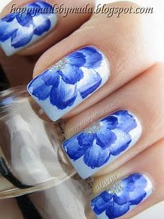 34 Beautiful Wedding Blue Nail Art