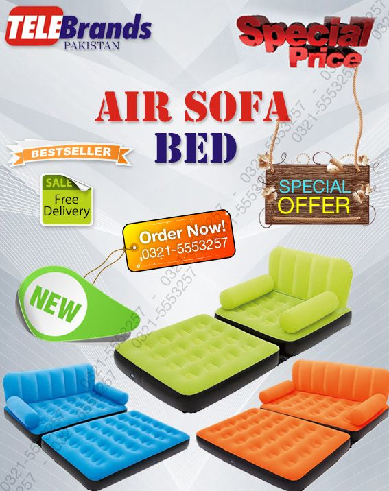 Sectional Sofa Air Lounge now in Pakistan with tele brands