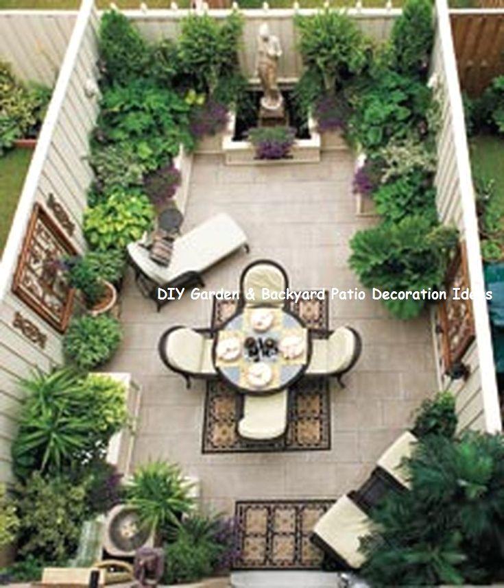New And Cheap Garden Backyard Patio Furniture Ideas Diy