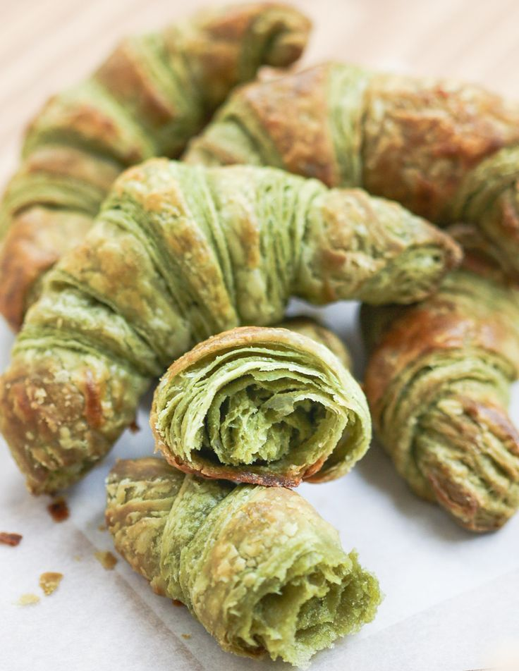 Matcha Croissants | Thirsty for Tea