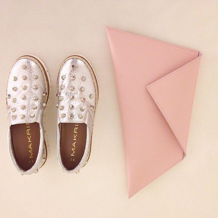 Vice Versa bag Vs Makris shoes