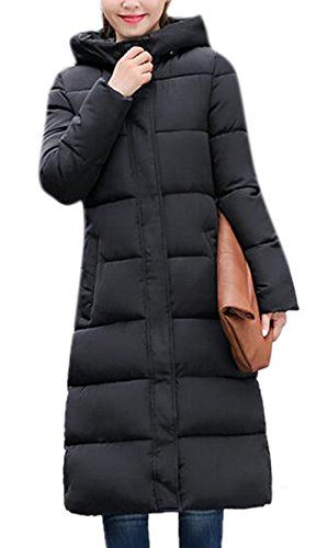 Lingswallow Womens Hooded Outwear Thicken Parka Maxi Coat Long Down Jacket Black L=US2-4,XL=US6-8,2XL=US10-12,3XL=US12-14Lingswallow is a fashion brand offering popular clothing for ladies. All the products of Lingswallow are well-designed and have a high quality.   Our designers are able to create the trendiest up-to-date clothing by integrating classic and modern fashion trends. We specialize in women, lady, junior, and girl's outerwear for all occasions. Our product