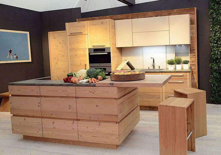 Kueche Modern Reduziert Eiche Altholz Altholz Eiche Kueche Modern Reduziert Mit Bildern Kuche Eiche Moderne Kuche Kuchen Design
