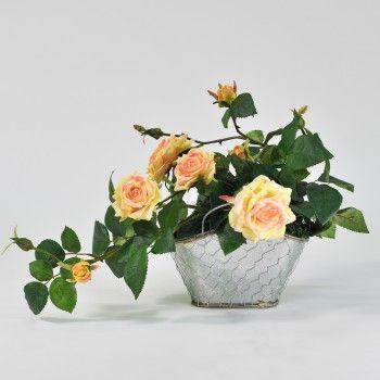 1000 images about compositions florales artificielles on. Black Bedroom Furniture Sets. Home Design Ideas