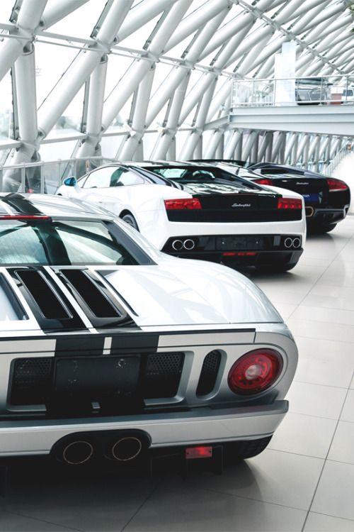 italian-luxury:  Ford & Lamborghini