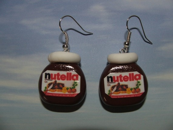 If they actually had nutella inside them, I would wear them!