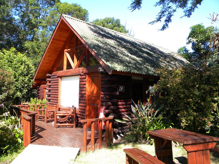 log cabins at Tsitsikamma Lodge in Tsitsikamma
