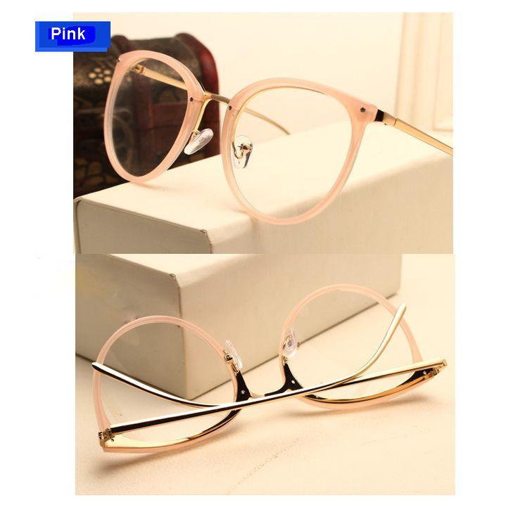 Decoração do vintage Óculos Ópticos Quadro miopia rodada de metal das mulheres dos homens unisex óculos óculos oculos de grau óculos em Armações de óculos de Dos homens de Roupas & Acessórios no AliExpress.com | Alibaba Group