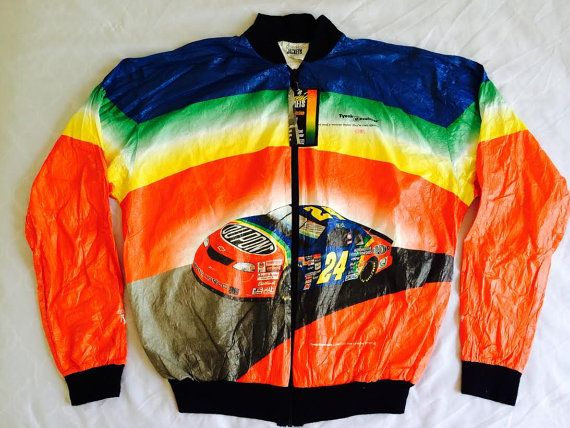 DuPont 90s Nascar Tyvek Jacket**Never Worn**Tag Still on!