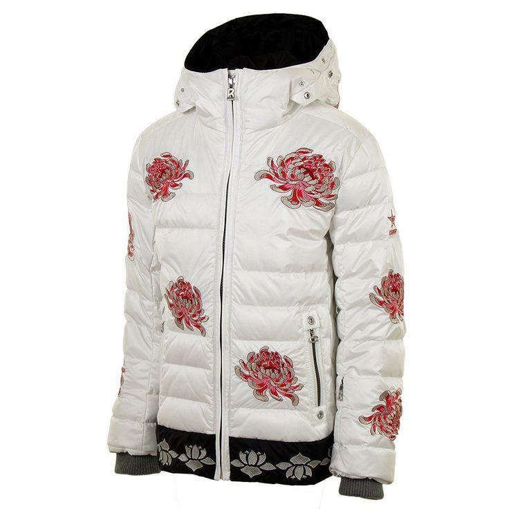 Bogner GiannaD Down Ski Jacket (Girl's) Down ski jacket
