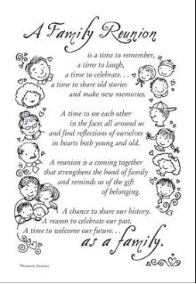 Family Reunion - LOVE LOVE LOVE THIS!!!!!!! Gotta remember this for our next family reunion. CP