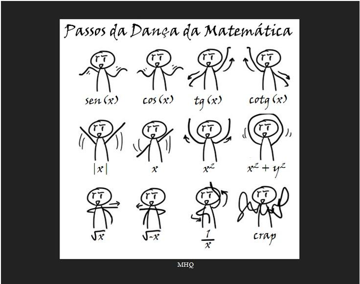 Pasitos de baile matemáticos