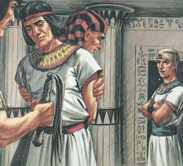an overview of the story of joseph and potiphars wife in the bible Potipahr's wife joseph was taken to egypt by the ishmaelites and sold in the slave market to an officer of pharaoh, an egyptian named potiphar.