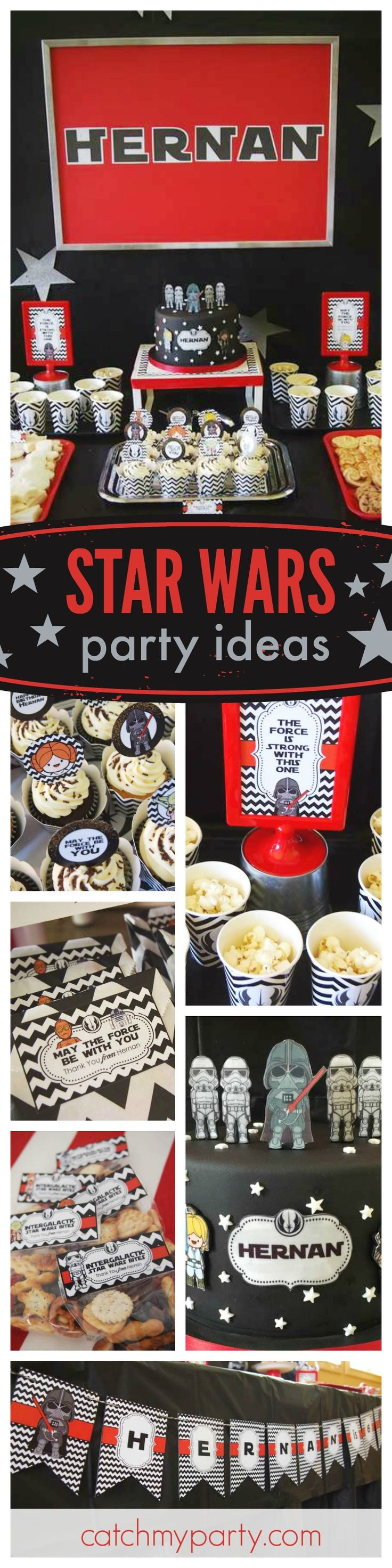 393 best Star Wars Party Ideas images on Pinterest