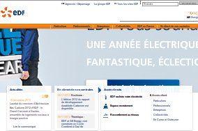 EDF : espace client pour les utilisateurs du fournisseur d'électricité edf en France