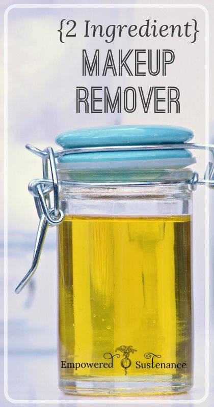 An easy makeup remover, it dissolves all makeup and doesn't irritate eyes.