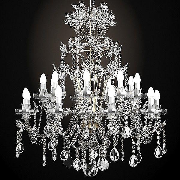 Classic crystal swarowski chandelier