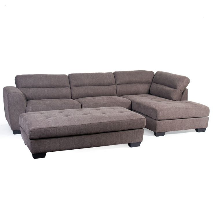 Cooper 3 Seater Chaise & FREE Ottoman - Discount Lounge Centre