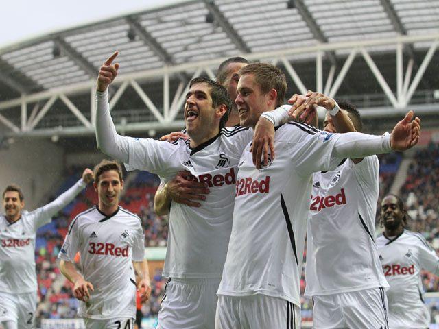 Swansea City FC - our Premier League football team!