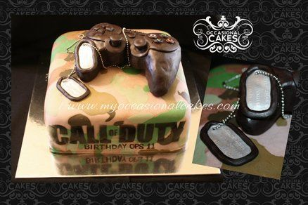 call of duty cakes | Call of Duty (TM) themed cake - by OccasionalCakes @ CakesDecor.com ...