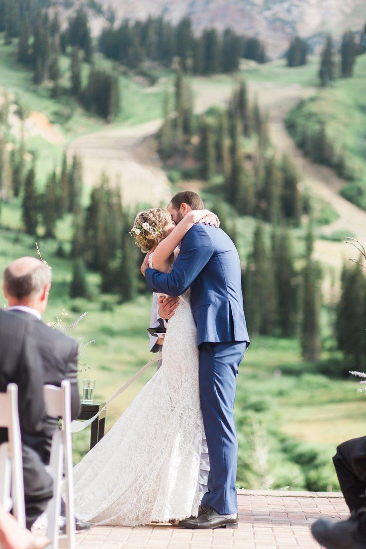 AK Studio Design | Whitney Hunt | Utah Mountain Wedding | Lace Wedding Dress | Kate + Sam | Salt Lake City Utah Wedding Photography | AKStudioDesign.com