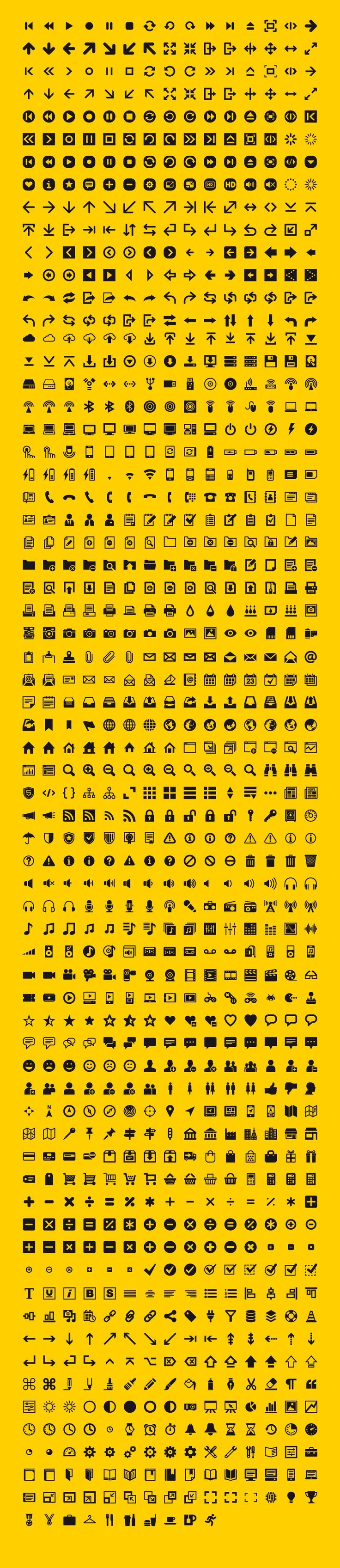 1000 vector icons is an icon set developed for everyday use. This professional and accurate series of icons is both flexible and easy to use. The icons work great everywhere; from wireframes to websites and mobile apps to print. All the icons were developed in Adobe Illustrator using a grid system. This ensures pixel perfection …