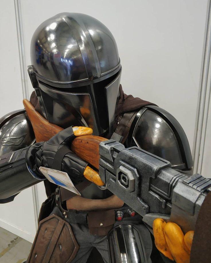 Mandalorian mando din djarin helmet star wars inspired 3d