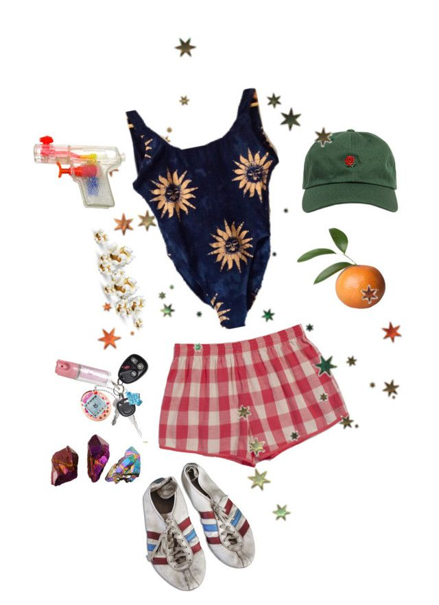 """raising arizona"" by paigealexandrialee on Polyvore featuring The Hundreds and adidas"